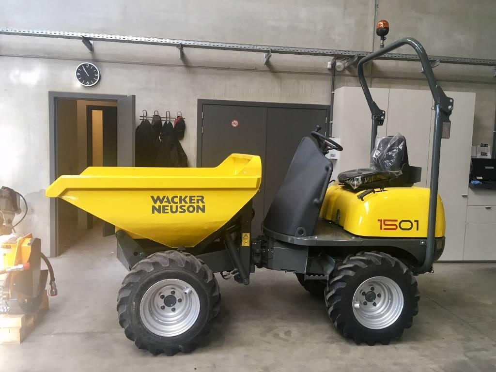 Wacker Neuson 1501 Hi-Tip, Mini Dumpers, Bouw