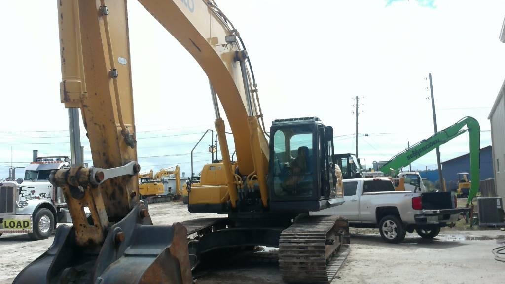 Kobelco SK 350 LC-9, Crawler Excavators, Construction Equipment