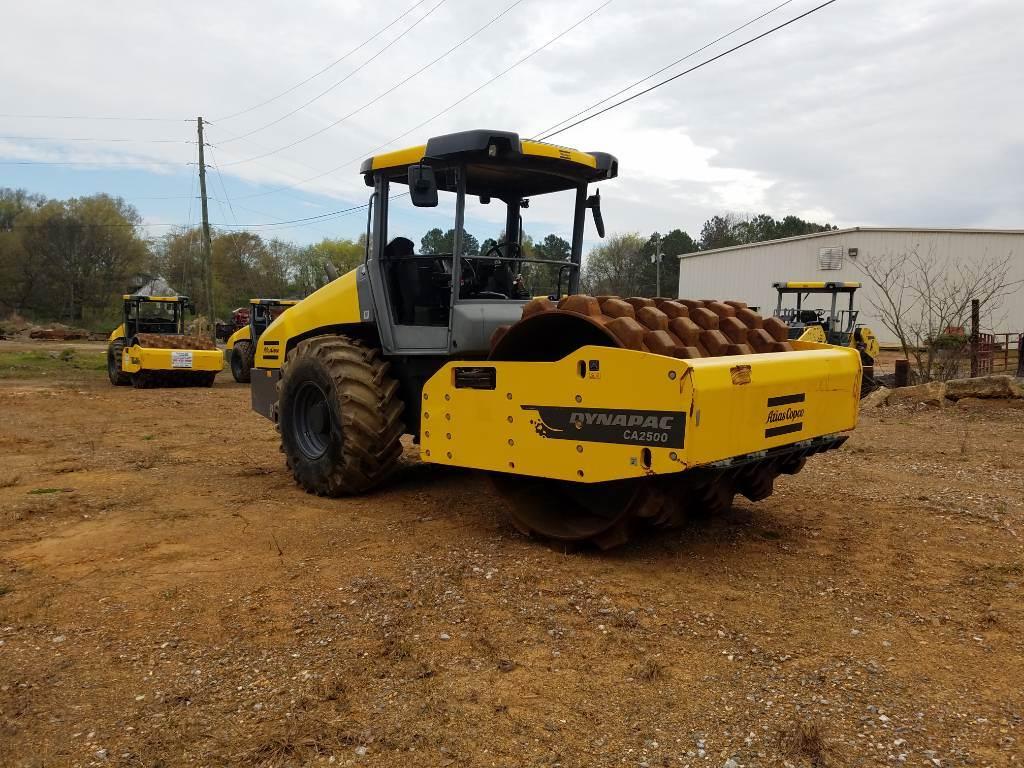 Dynapac 2500PD, Soil Compactors, Construction Equipment