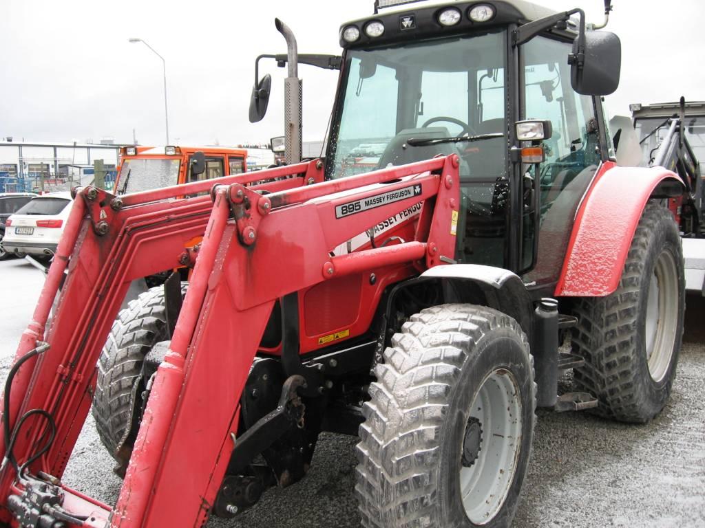 Massey Ferguson 5445 4WD, Traktorer, Lantbruk