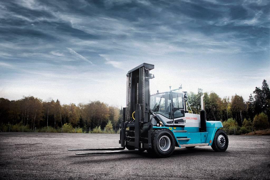 Konecranes SMV12-600C, Heftrucks – Diesel, Laden en lossen