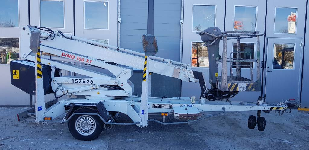 Dino 160 XT, Trailer mounted aerial platforms, Construction