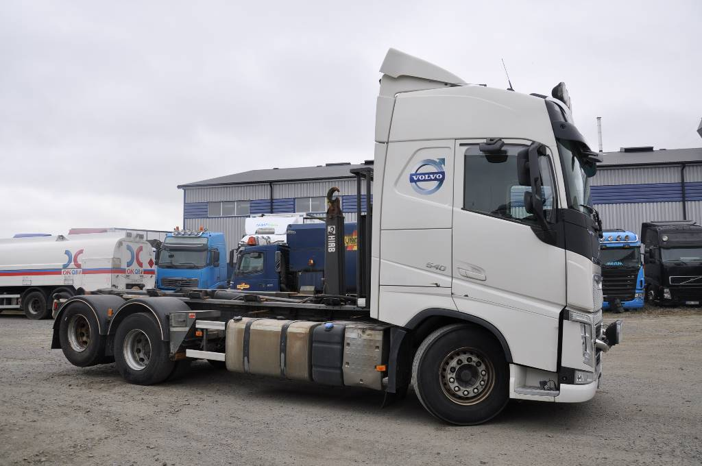 Volvo BM FH540 6X2, Lastväxlare/Krokbilar, Transportfordon