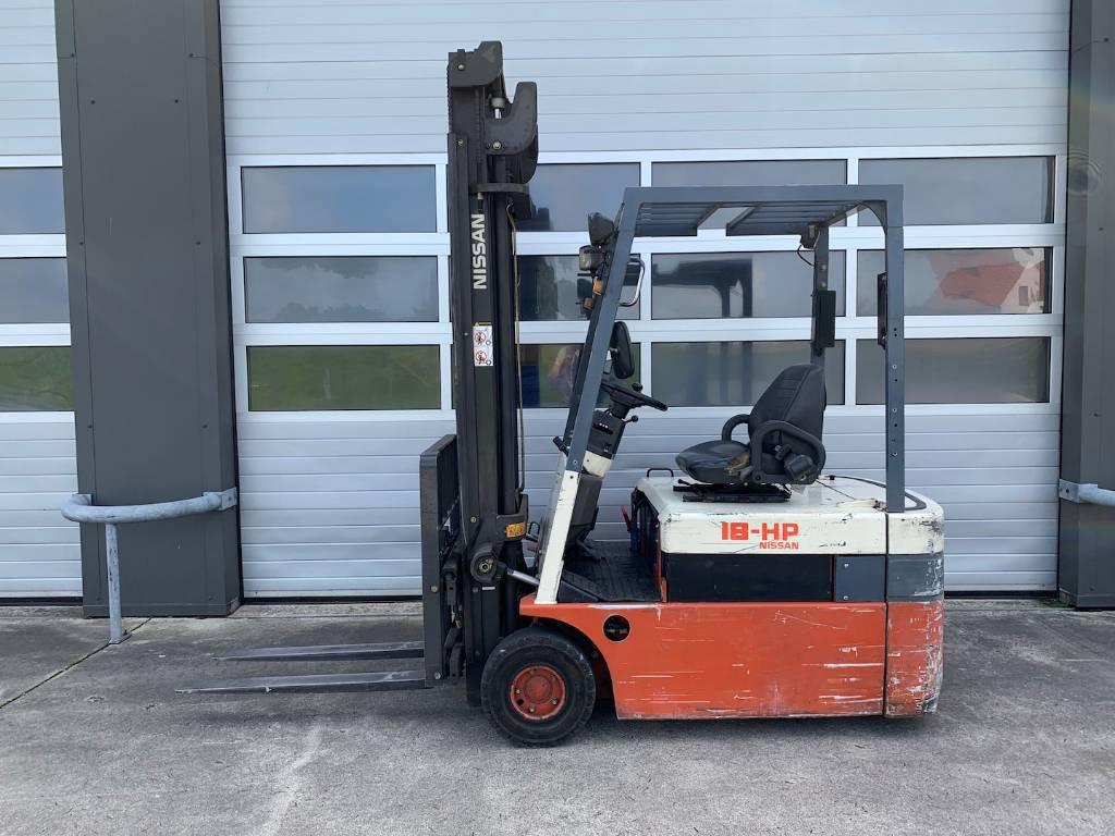 Nissan 1.8 ton elektrische vorkheftruck Nissan HP18, Elektrische heftrucks, Laden en lossen