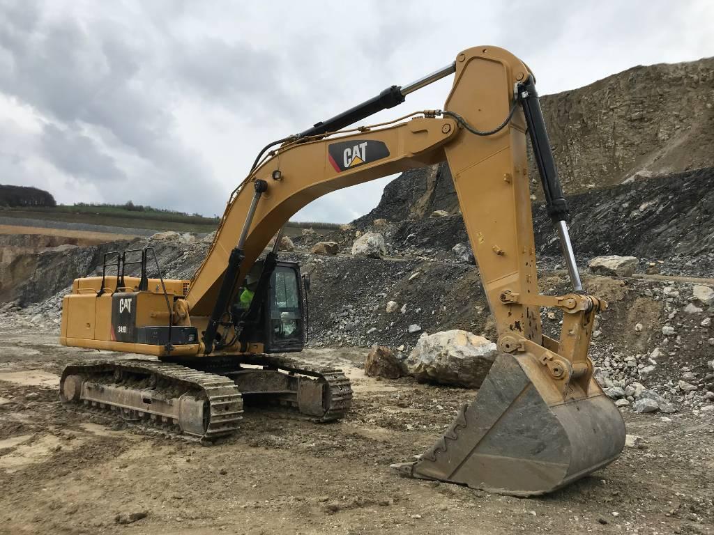 Caterpillar 349 D2L (2pc), Crawler excavators, Construction