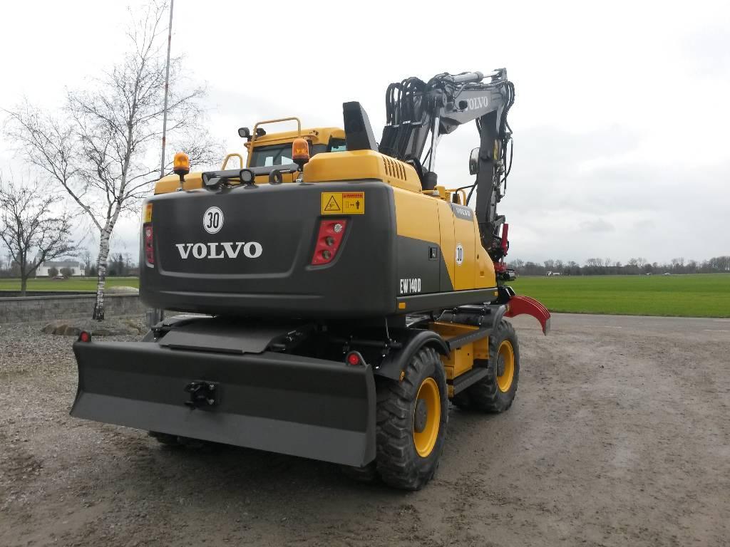 Volvo EW 140 D, Uthyres, Hjulgrävare, Entreprenad