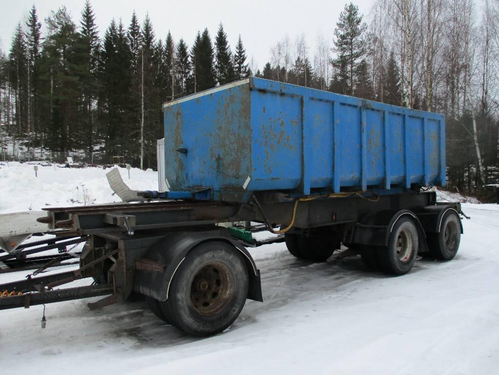 Kome 3 akselinen 30 ton letkukasetti, Sora- ja kippiperävaunut, Kuljetuskalusto