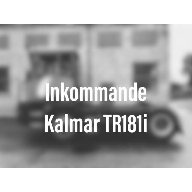 Kalmar TR 181 i, Terminaltraktorer, Materialhantering