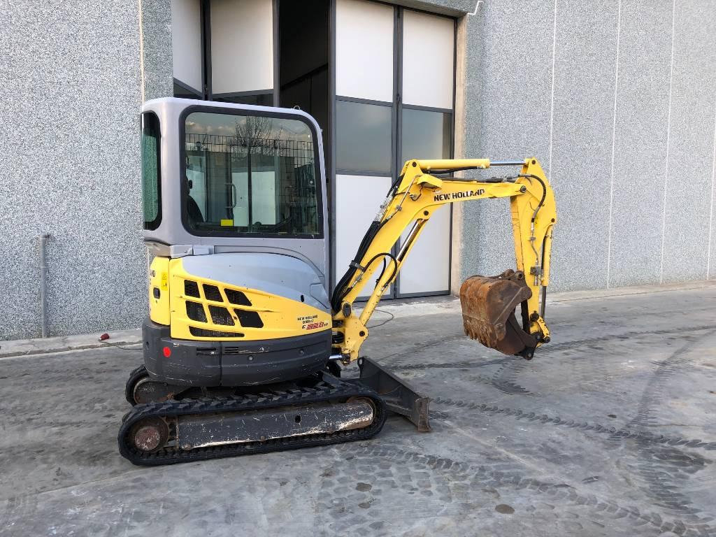 New Holland Kobelco E22.2SR, Mini Excavators <7t (Mini Diggers), Construction Equipment