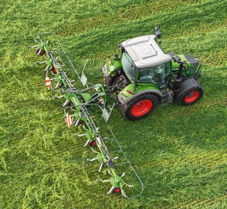 Fendt Twister 8608 DN, Harkkeerders en schudders, Landbouw