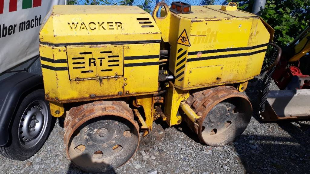 Wacker Grabenwalze, Andere Walzen, Baumaschinen