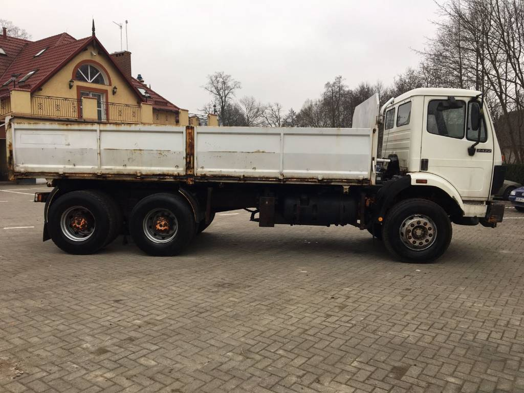 Used mercedes benz 2422 full spring dump trucks year 1990 for Used mercedes benz tipper trucks for sale in germany