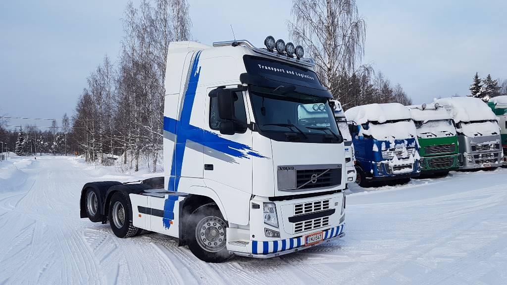 Volvo FH 540 6X2, Vetopöytäautot, Kuljetuskalusto