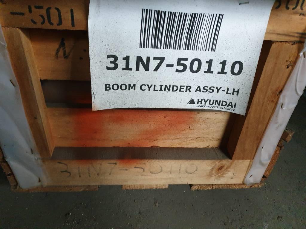 Hyundai Boom Cylinder LH - Robex 250 LC-7, 31N7-50110, Hydraulics, Construction