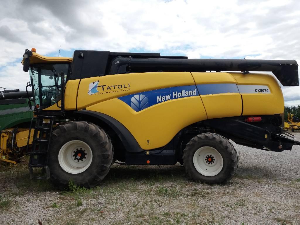 New Holland CX 8070, Kombainid, Põllumajandus