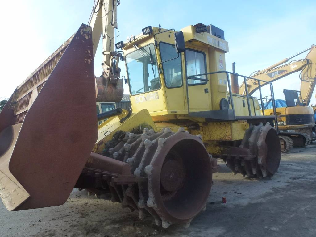 Bomag BC671RB, Waste compactors, Construction