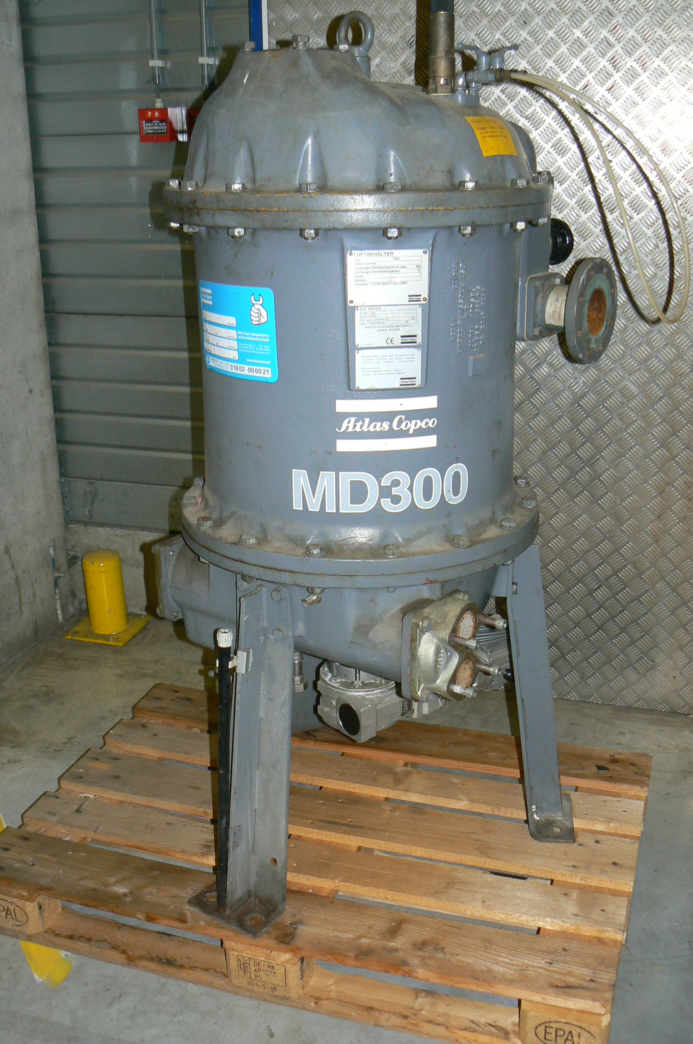 Atlas Copco MD 300 W, Compressed air dryers, Industrial