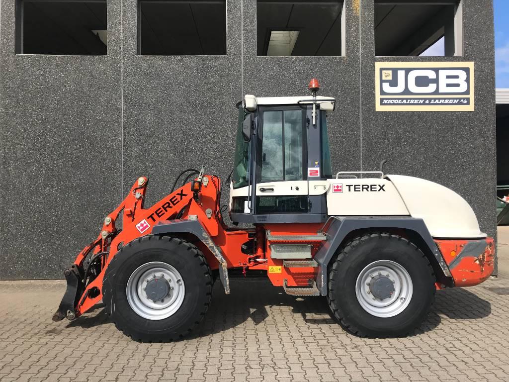 Terex TL 160, Læssemaskiner på hjul, Entreprenør