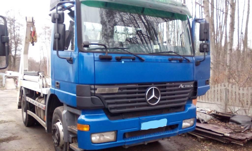 Mercedes-Benz ACTROS 1831 K, Samochody do załadunku kontenerowego, Transport