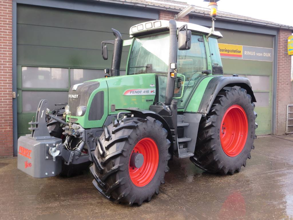 Fendt 415, Tractoren, Landbouw