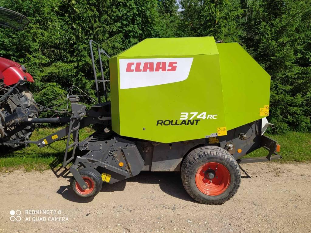CLAAS Rollant 374 RC, Ritinių presai, Žemės ūkis