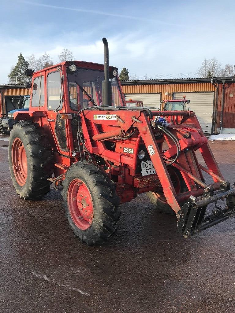 Volvo BM 2254 4WD, Ålö lastare, Traktorer, Lantbruk