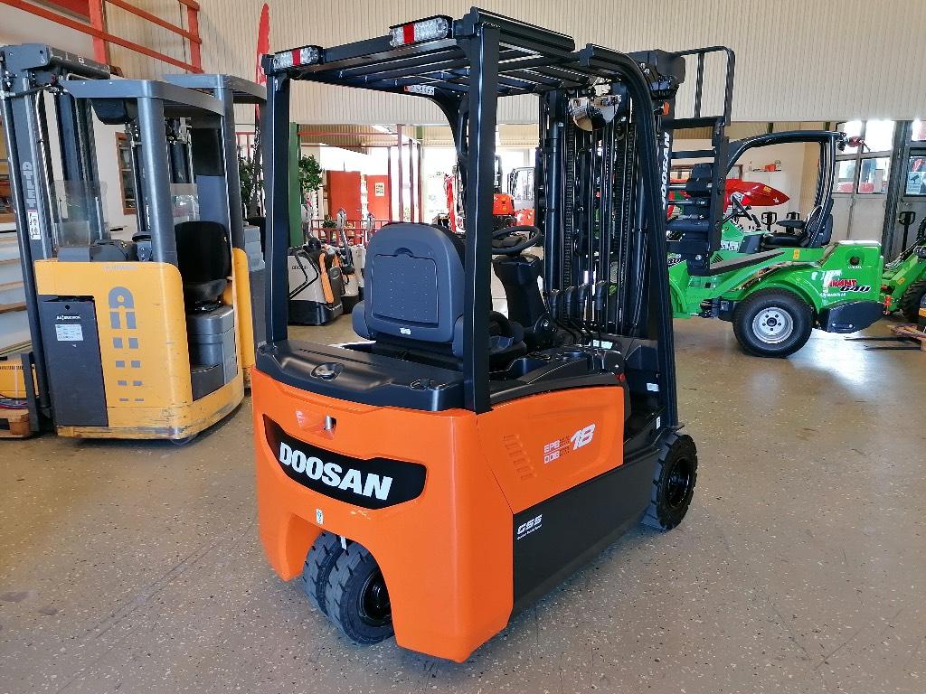 Doosan B18 T-7 1800kg HYRA/LEASING/KÖP, Elmotviktstruckar, Materialhantering