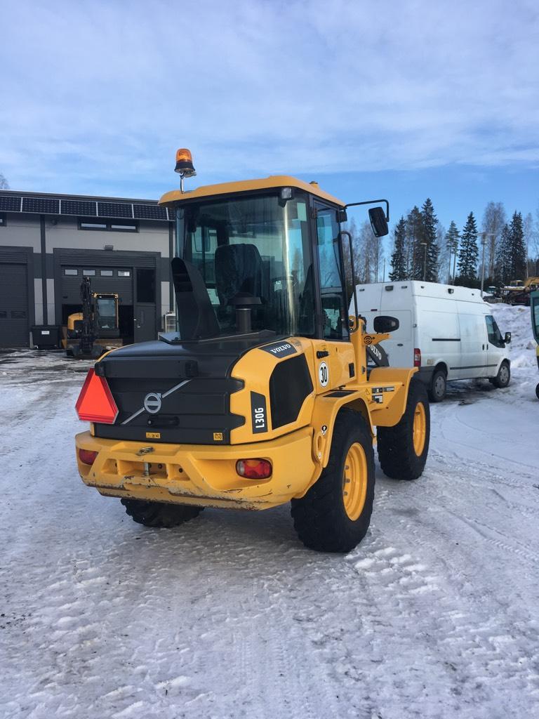 Volvo L30 G SL (30 km/h), Pyöräkuormaajat, Maarakennus