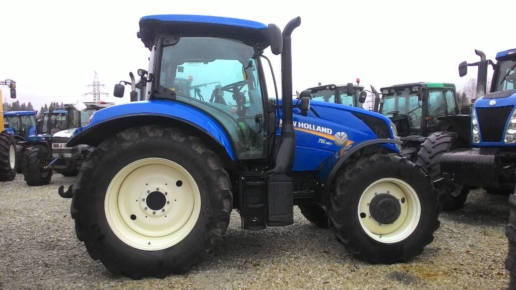 New Holland T 6.180, Traktorid, Põllumajandus