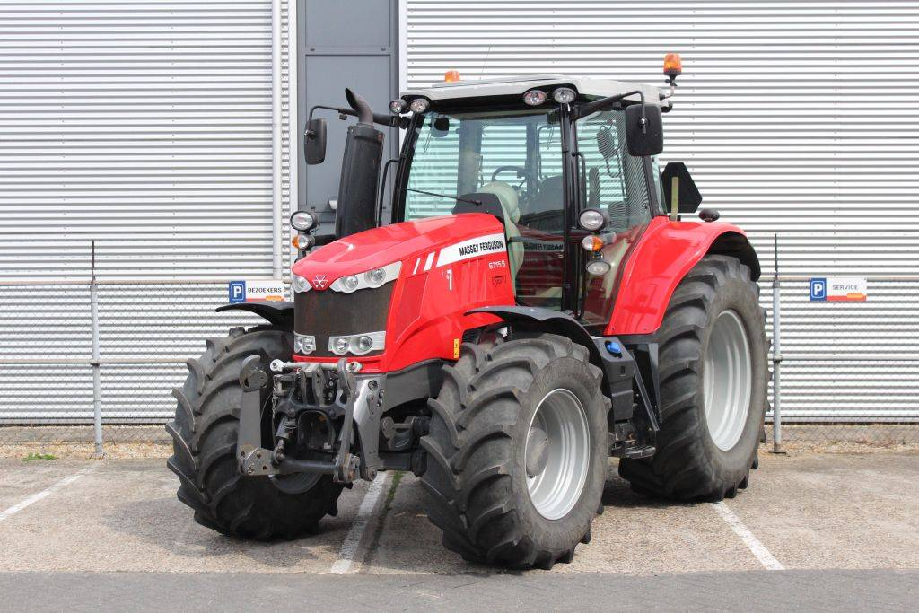 Massey Ferguson 6715S Dyna-VT Efficient, Tractoren, Landbouw
