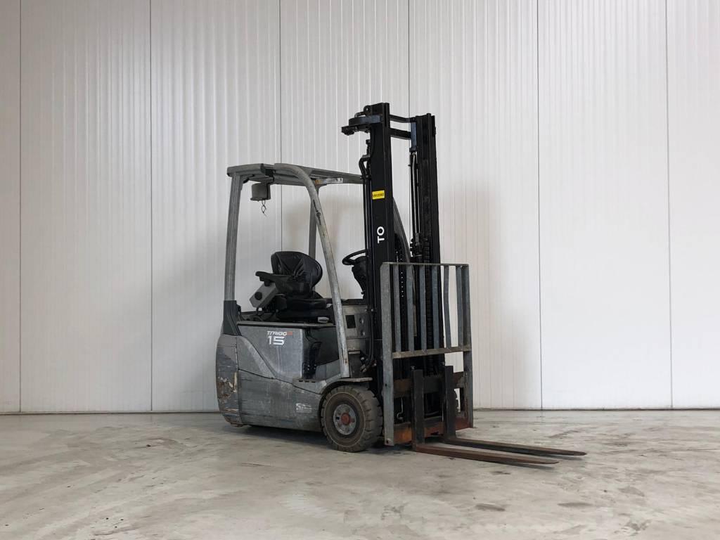 Toyota 8FBET15, Elektrische heftrucks, Laden en lossen