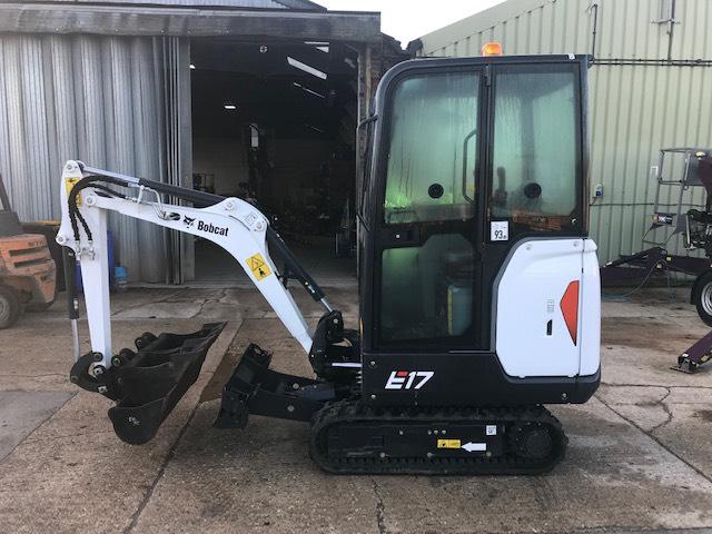 Bobcat E 17, Mini excavators < 7t (Mini diggers), Construction