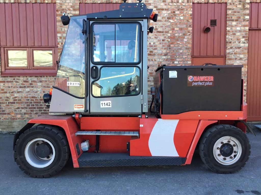Kalmar ECF 80-9, Elmotviktstruckar, Materialhantering