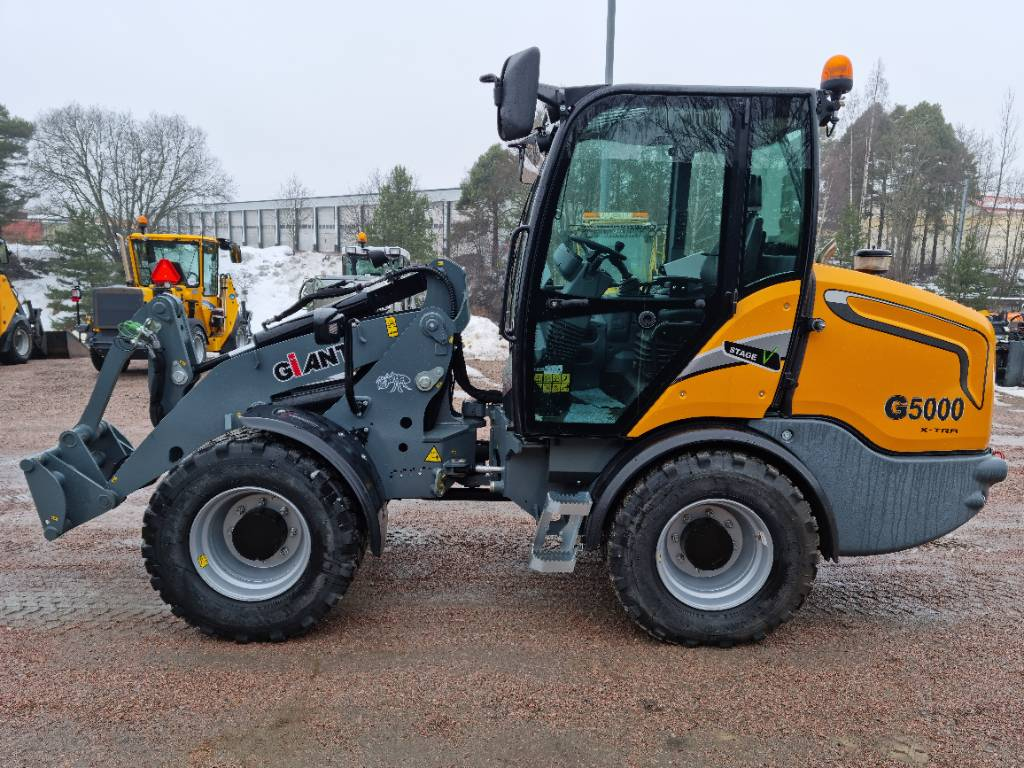 GiANT G5000 X-tra, Hjullastare, Entreprenad