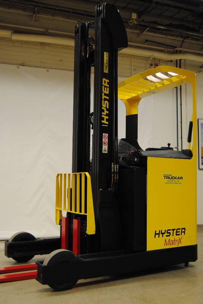 Hyster R1,6, Skjutstativtruck, Materialhantering
