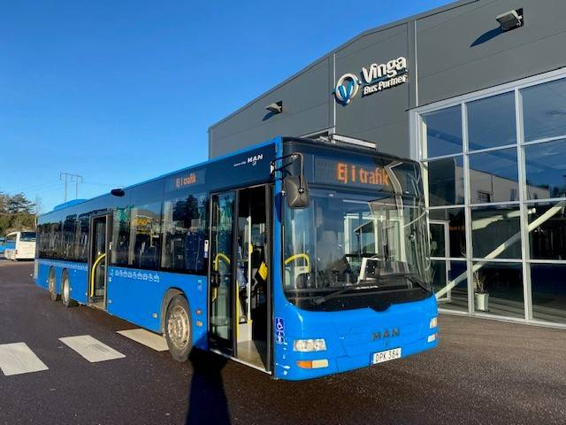 MAN A44, we have 3pc, Linjebussar, Transportfordon