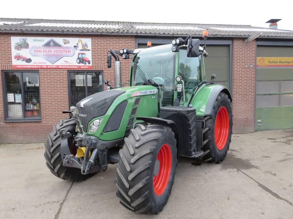 Fendt 718 scr vario tms profi plus, Tractoren, Landbouw