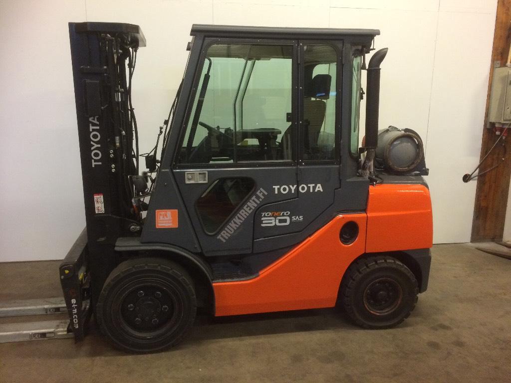 Toyota 02-8FGF30, Nestekaasutrukit, Materiaalinkäsittely