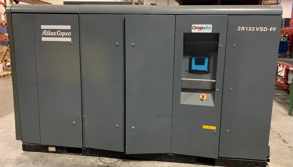 Atlas Copco ZR 132VSDFF, Compressors, Industrial