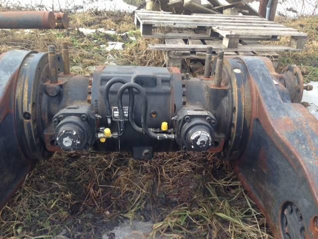John Deere 1070 D Eco III, Ramar / Chassi, Skogsmaskiner