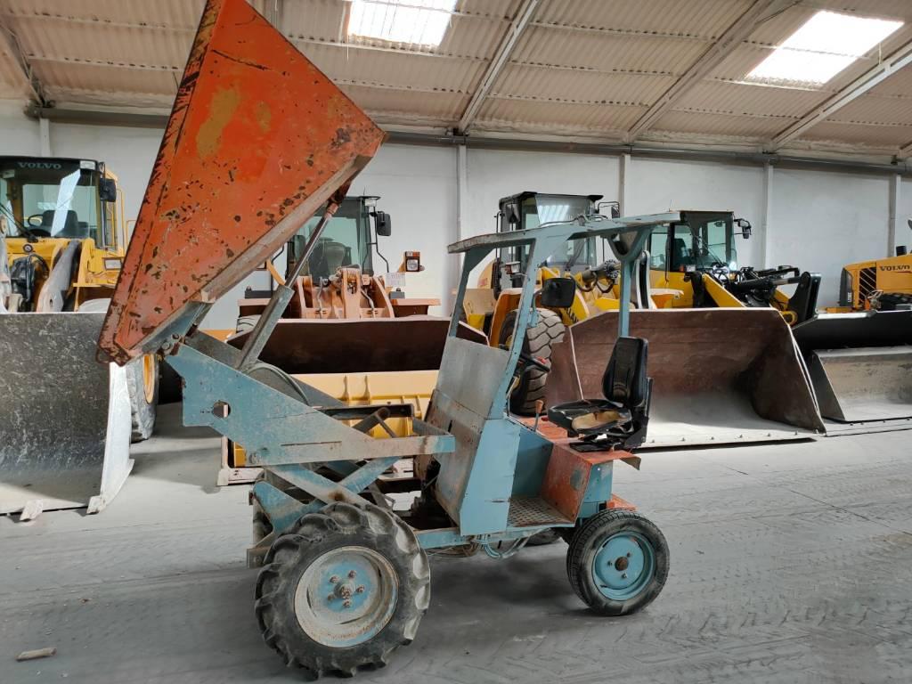 Ausa 150 DA PLUS, Dúmpers de obra, Construcción