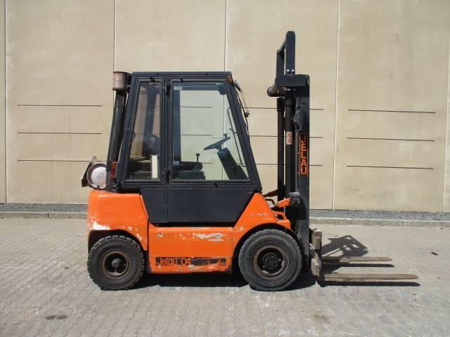 Jelau 04, Diesel gaffeltrucks, Trucks