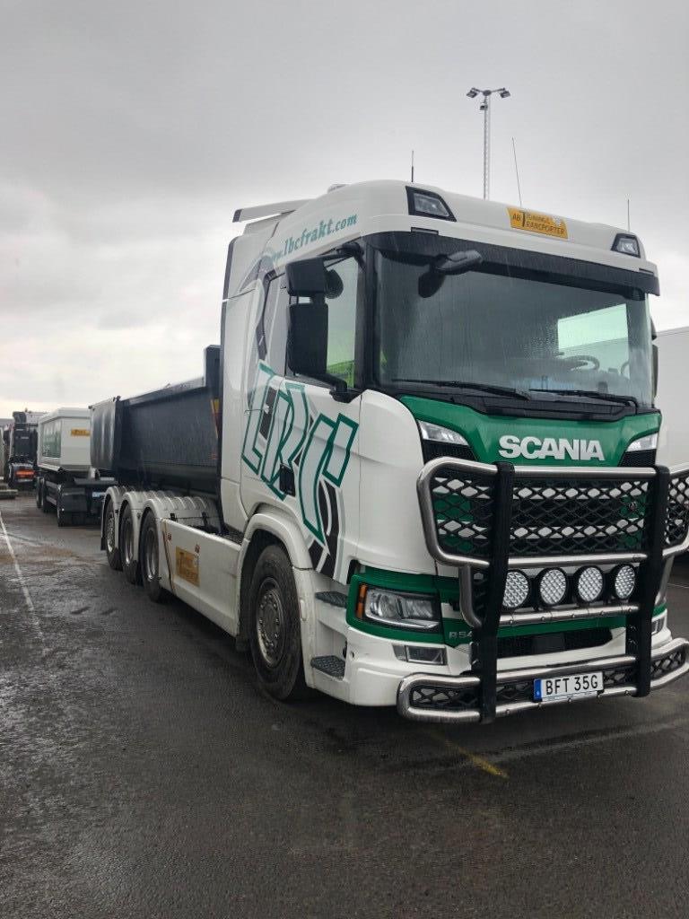 Scania R5408X4, Lastväxlare/Krokbilar, Transportfordon
