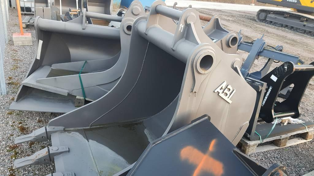 ABL Grävskopa S70, Buckets, Construction Equipment