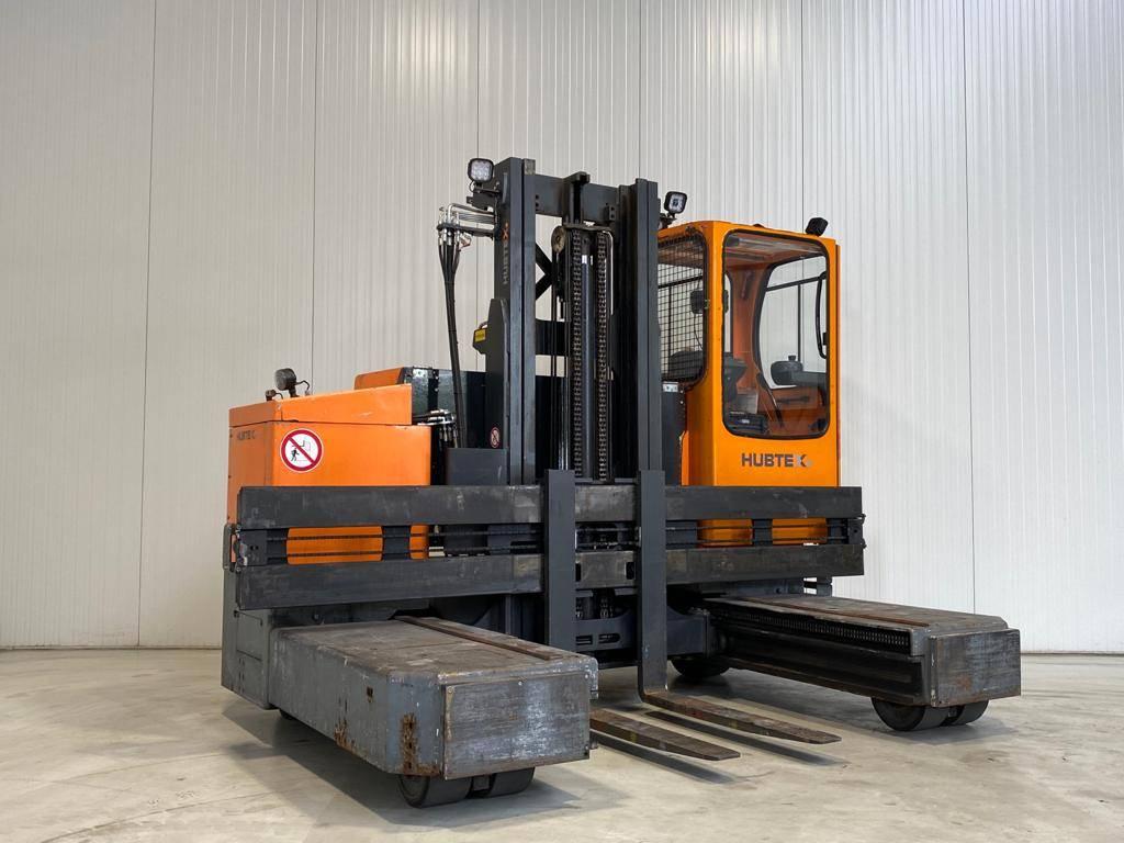 Hubtex MQ30 2130-EL, Four-way truck, Laden en lossen