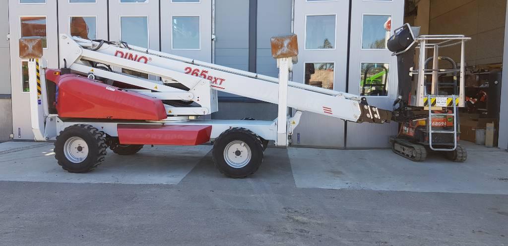 Dino 265 RXT, Teleskop bomliftar, Entreprenad