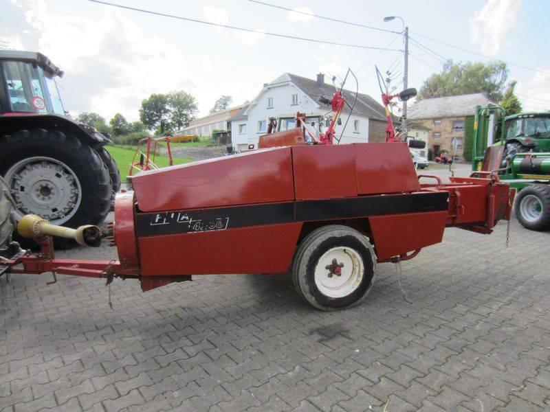 Fiat 4260, Presse cubique, Agricole