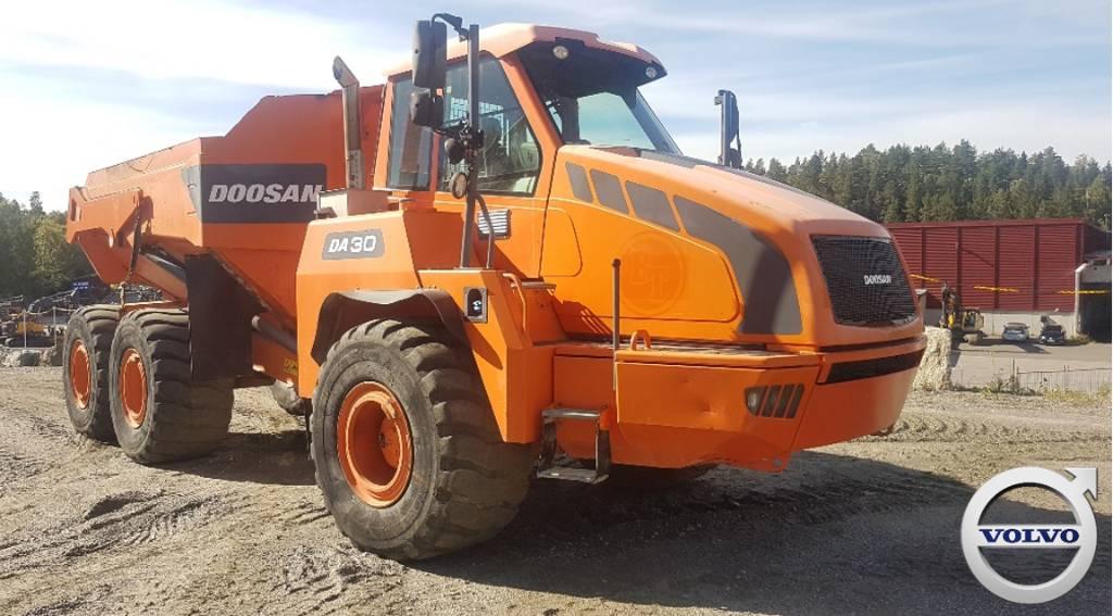 Doosan DA30, Articulated Dump Trucks (ADTs), Construction Equipment
