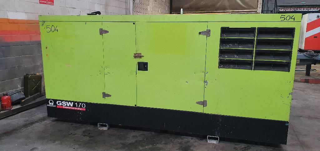 Pramac PERKINS GSW170, Generadores diesel, Construcción
