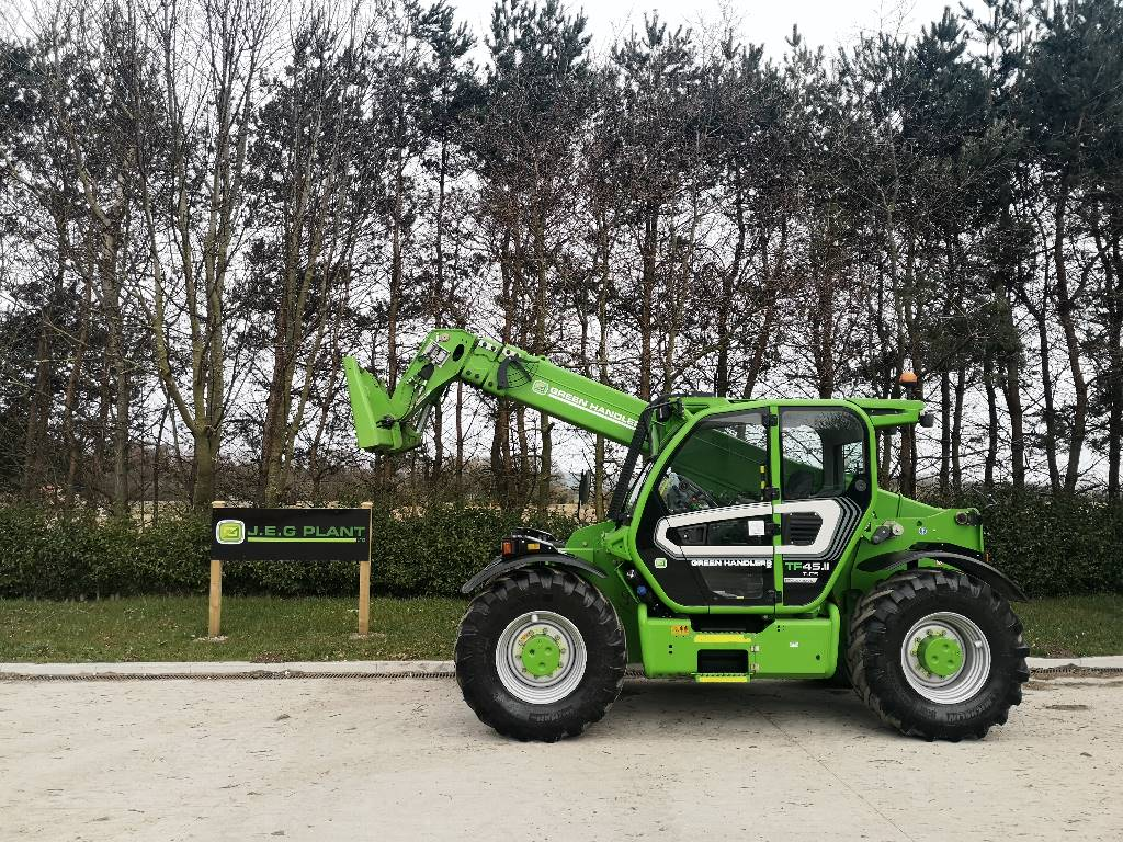 Merlo TF 45.11 T 170, Telehandlers for agriculture, Agriculture